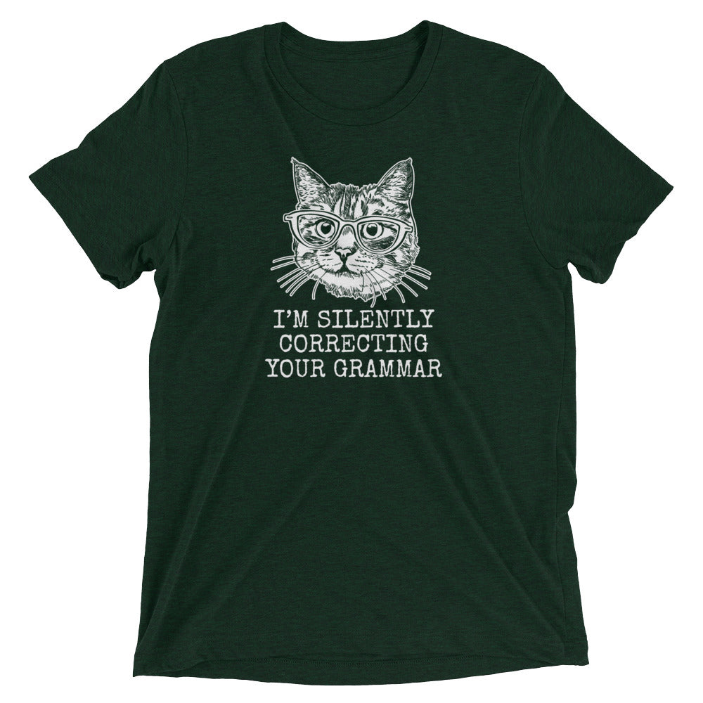 Correcting Your Grammar Cat T-Shirt
