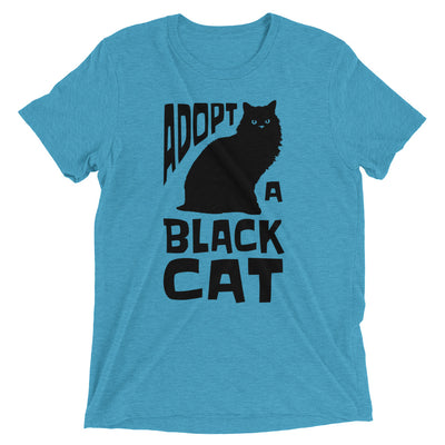 Adopt a Black Cat T-Shirt