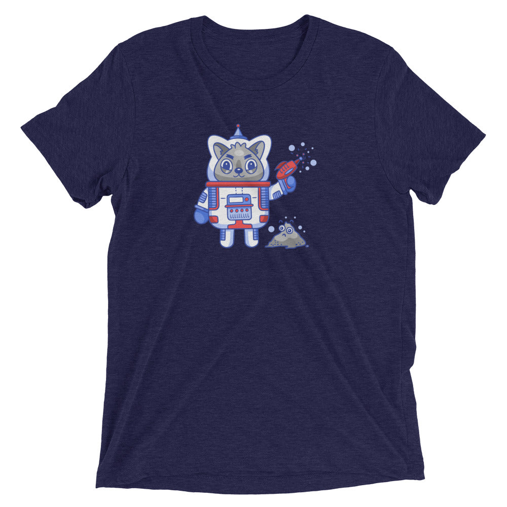Space Gun Cat T-Shirt