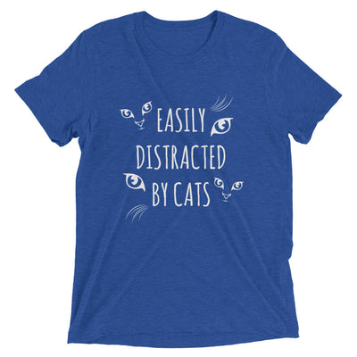 Easily Distracted by Cats T-Shirt