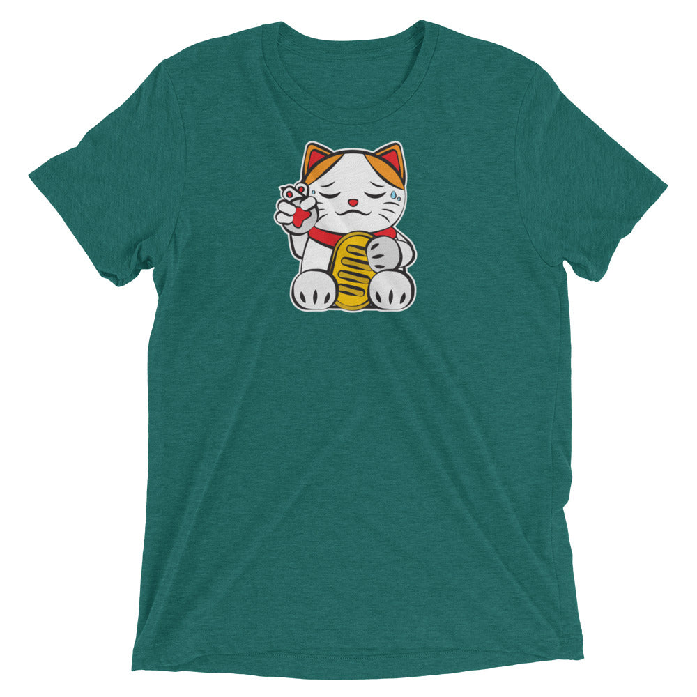 Lucky Cat #7: Hopeful Cat T-Shirt
