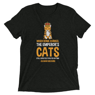 Cats Must Be Fed on Time T-Shirt
