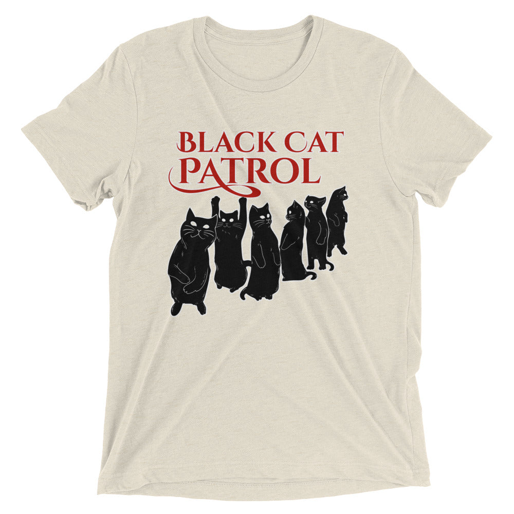 Black Cat Patrol T-Shirt