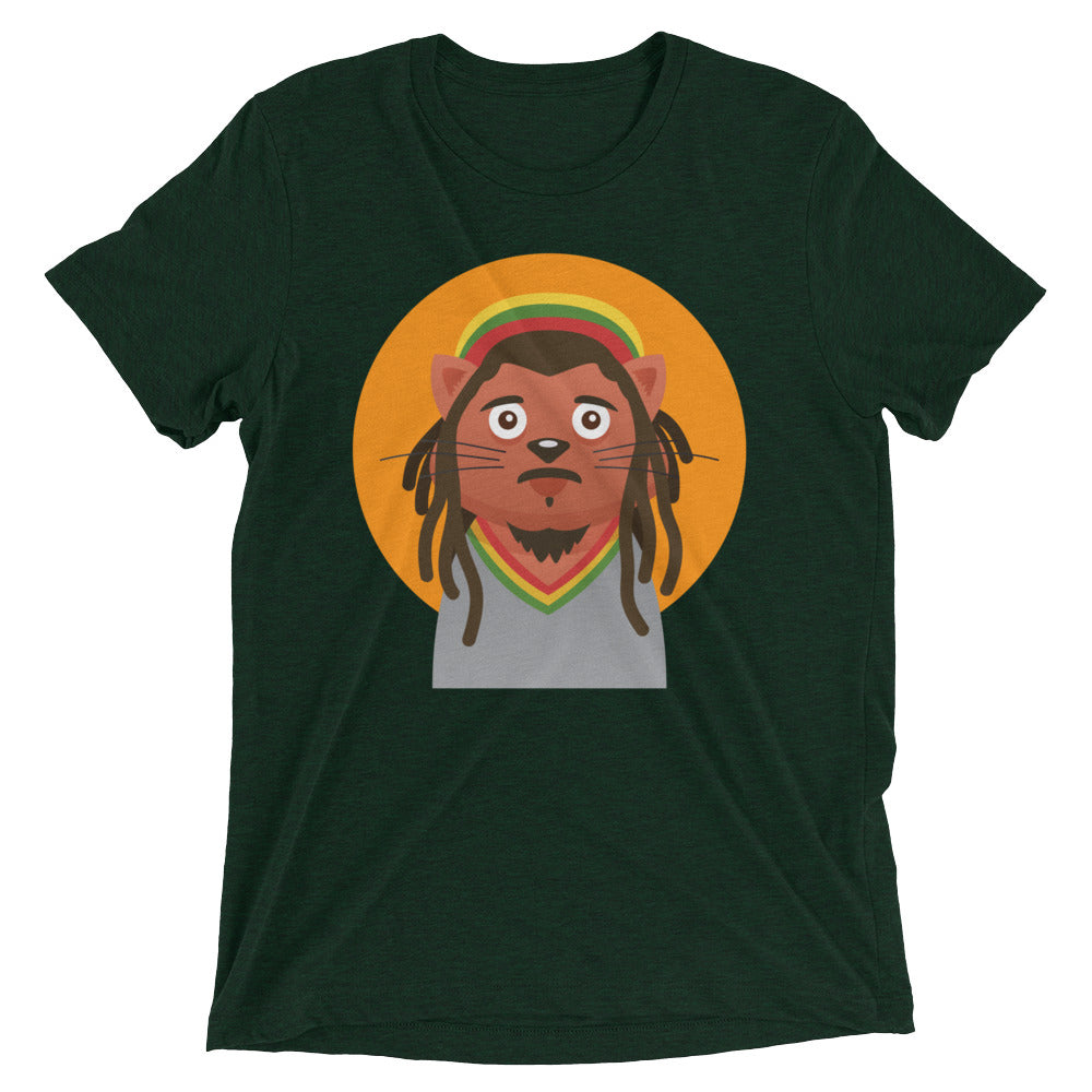 Bob Marley Cat T-Shirt