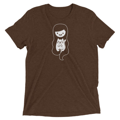 Cat Woman and Hair T-Shirt