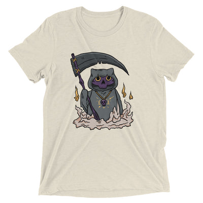 Grim Reaper Cat T-Shirt