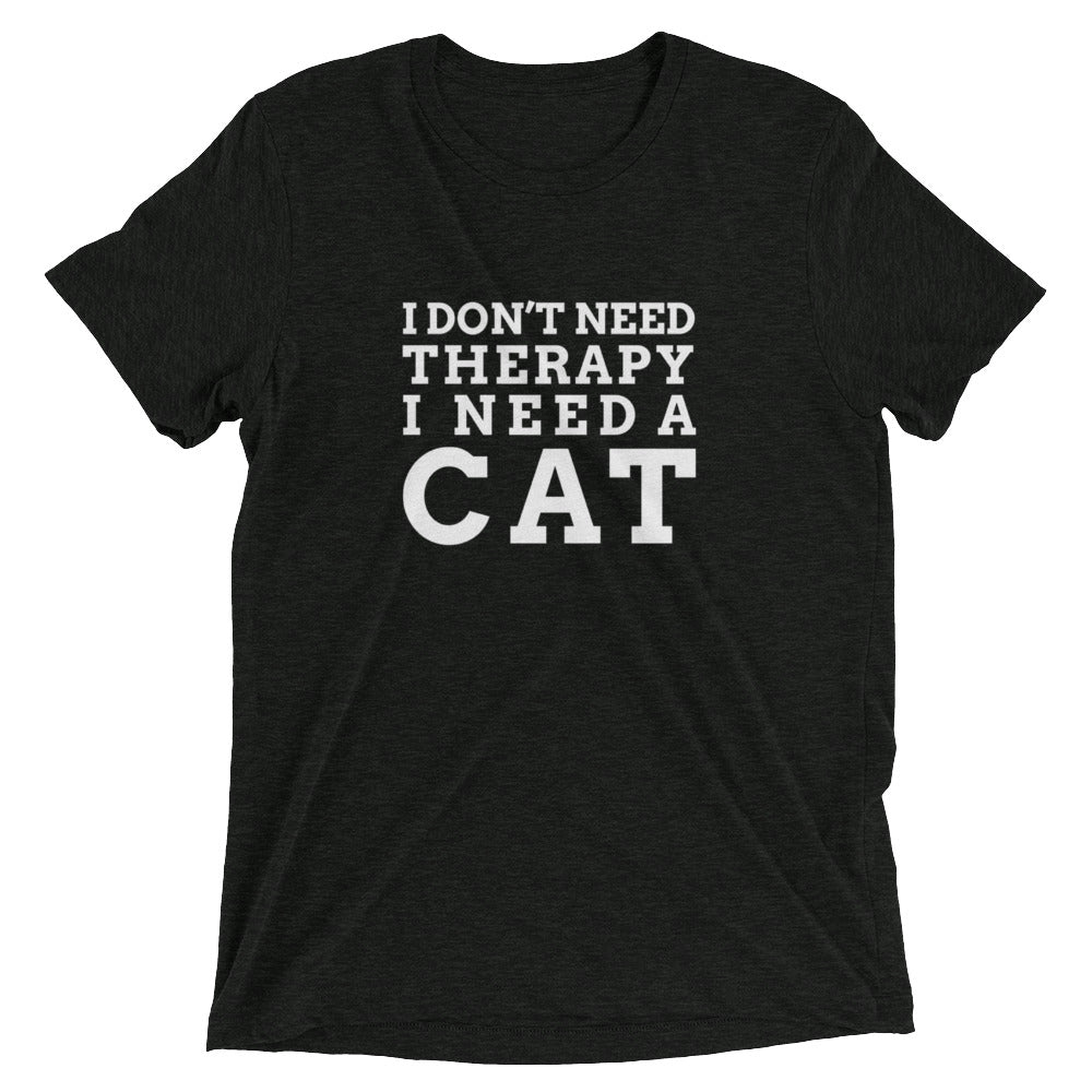 No Therapy, Cat T-Shirt