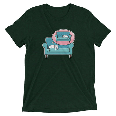 Dreaming of the Other Side Cat T-Shirt