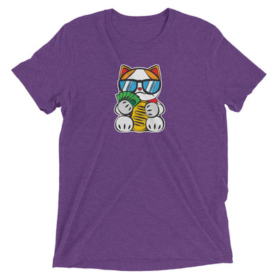 Lucky Cat #12: Rich Cat T-Shirt