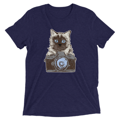 Say Cheese Cat T-Shirt