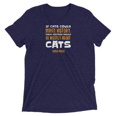 Cat History Quote T-Shirt