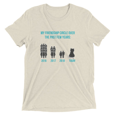 Friendship Graph Cat T-Shirt