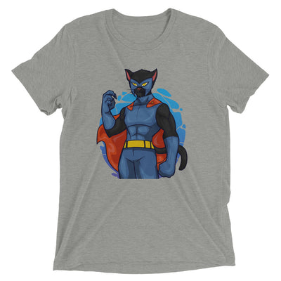 Superhero Comic Cat T-Shirt