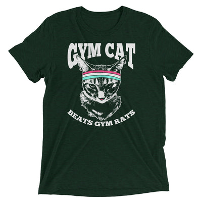 Gym Cat Beats Gym Rats T-Shirt