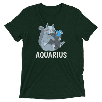 Zodiac Cat: Aquarius T-Shirt