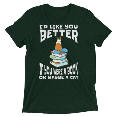Book Or Cat Better Than You T-Shirt