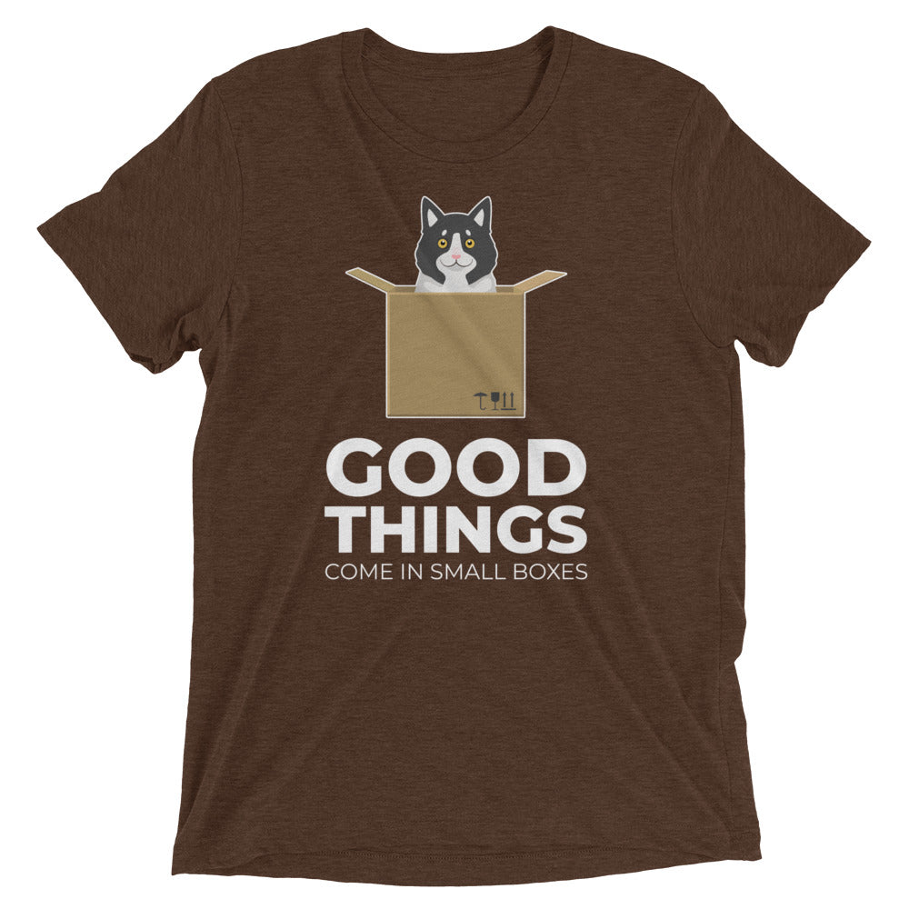 Good Things in Small Boxes Cat T-Shirt