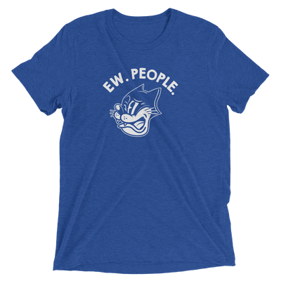 Ew. People. Short Sleeve Cat T-shirt