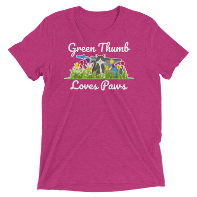 Green Thumb, Loves Paws T-Shirt