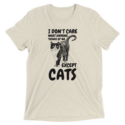 Care What Cat Thinks T-Shirt
