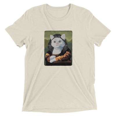 Mona Lisa Cat T-Shirt