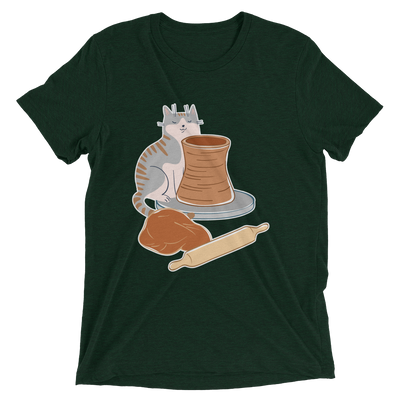 Pottery Cat T-Shirt #1