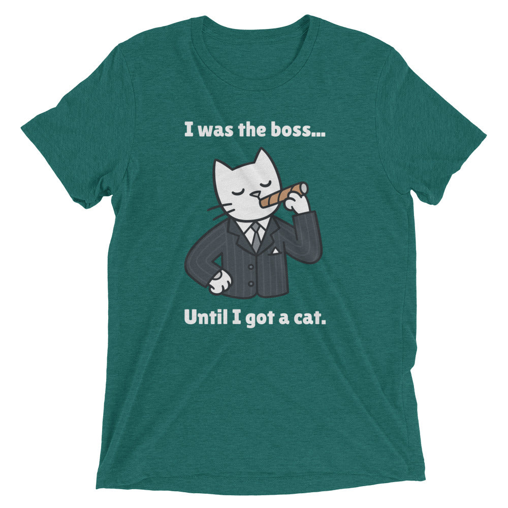 Cat Became the Boss T-Shirt