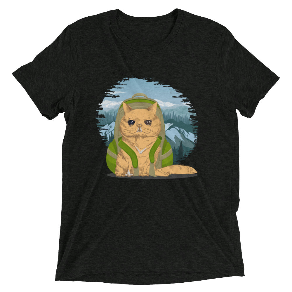 Camping Trek Cat T-Shirt