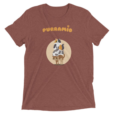 Purramid (Pyramid) Cat T-Shirt