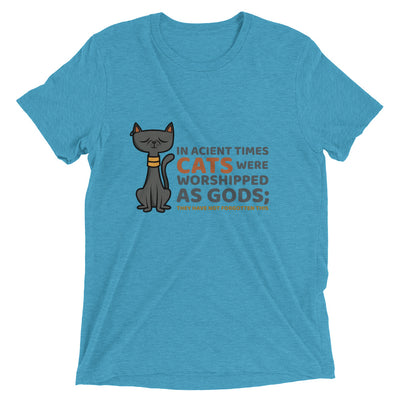 Cat Worship Quote T-Shirt