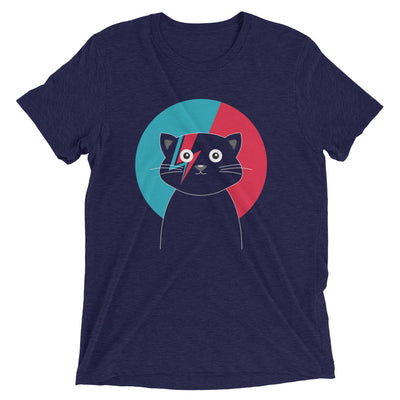 David Bowie Cat T-Shirt