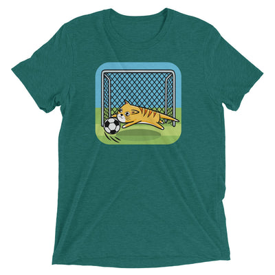 Soccer Goalie Cat T-Shirt