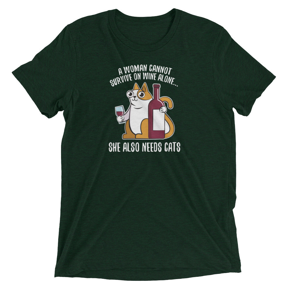 Women, Wine and Cats T-Shirt