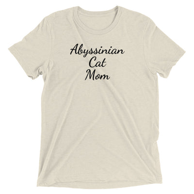 Abyssinian Cat Mom T-Shirt