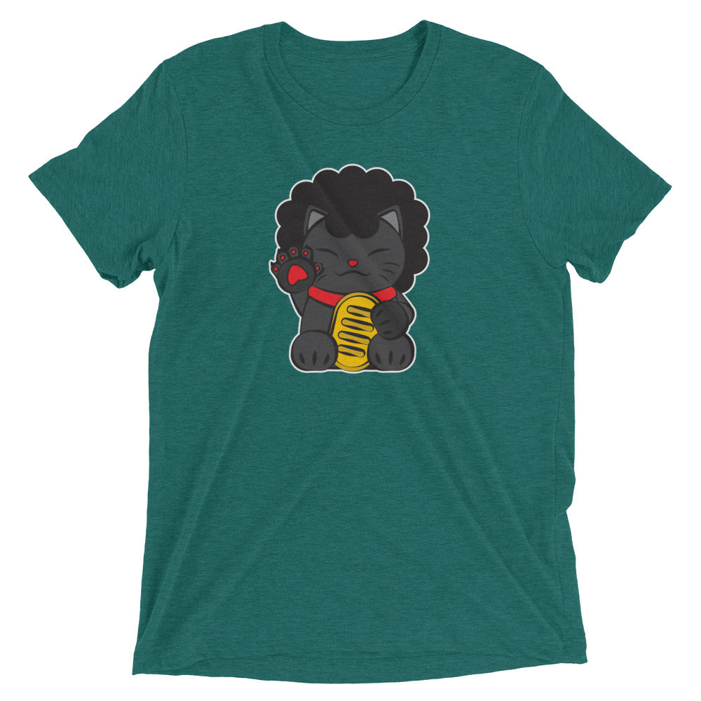 Lucky Cat #6: Afro Cat T-Shirt