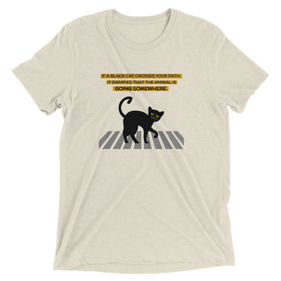 Black Cat Superstition T-Shirt