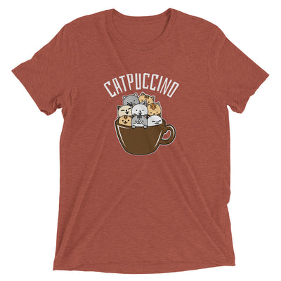 Cappuccino Cat is CatPuccino T-Shirt