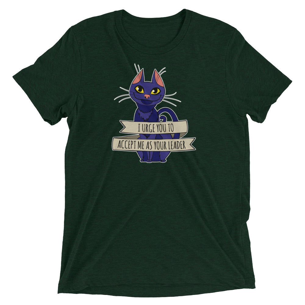 Accept Cat As Your Leader T-Shirt