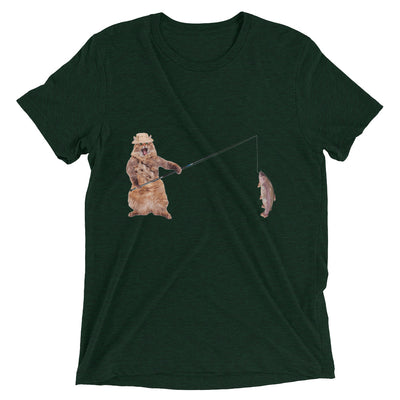 Caught a Big One Cat T-Shirt