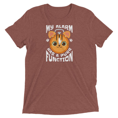 My Alarm Has a Purr Function Cat T-Shirt