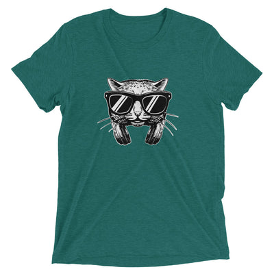 Headphones Music Lover Cat T-Shirt