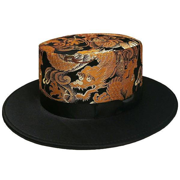 Stylish Hats, Japanese Dragon, Boater Hat | Fashion Japan KEIKO TAGAI