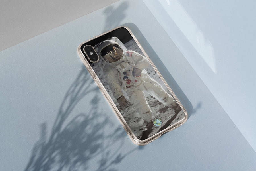 Buzz Aldrin Lunar Surface - iPhone Case