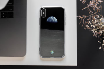 Apollo 16 Earthrise - iPhone Case