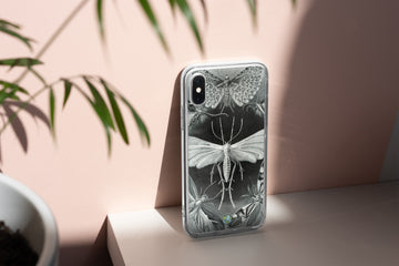 Grey Moths - iPhone Case