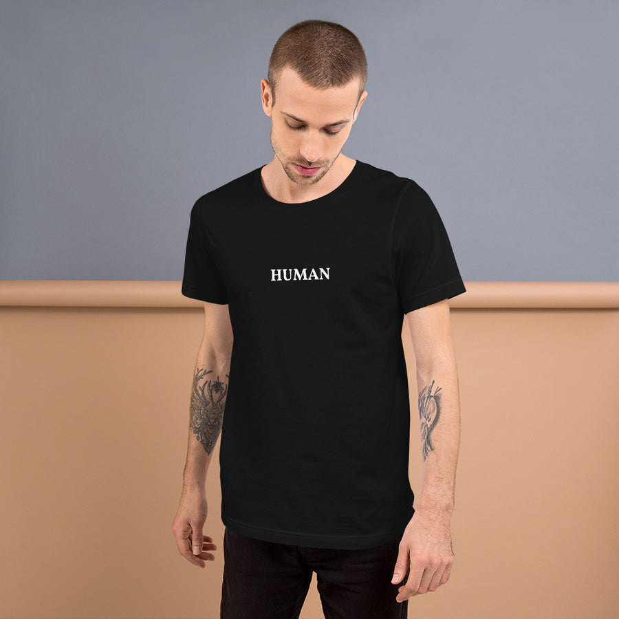 HUMAN Short-Sleeve Unisex T-Shirt