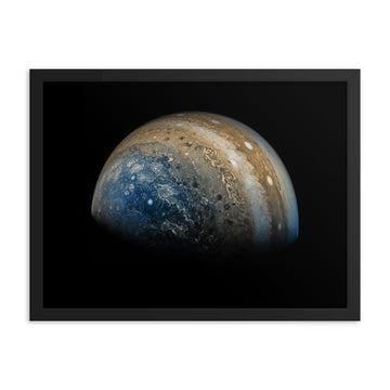 Planet Jupiter - Framed Print