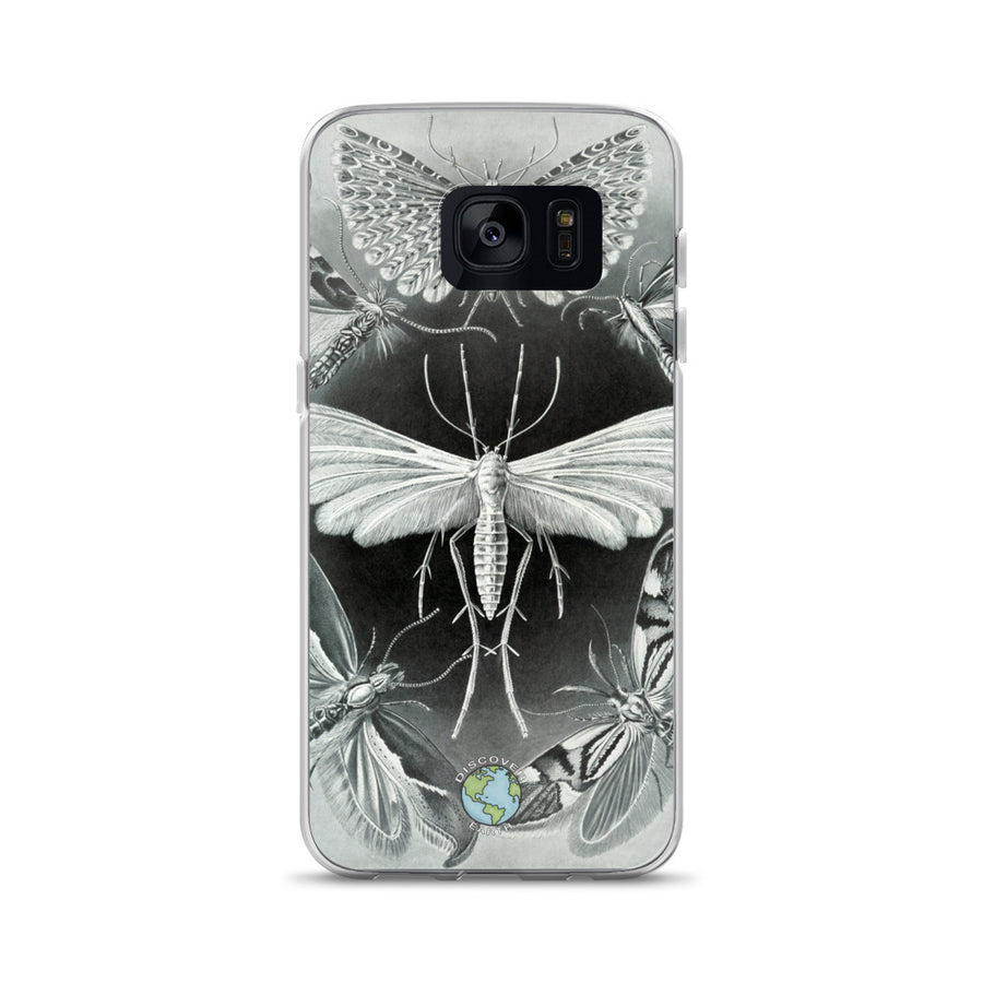 Grey Moths - Samsung Case