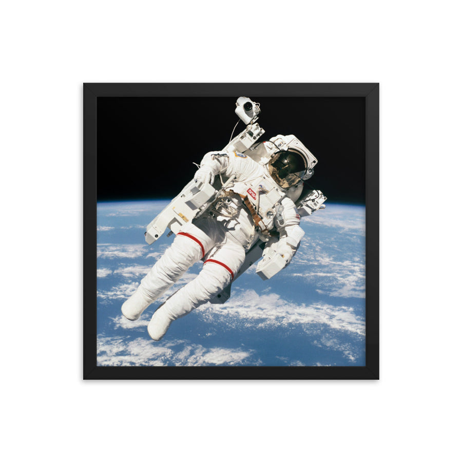 Untethered Spacewalk - Framed Print