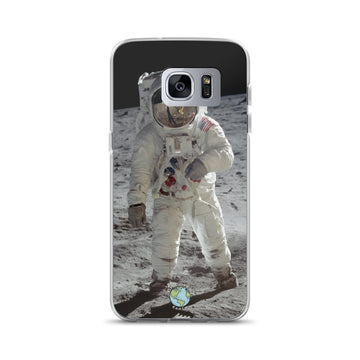 Buzz Aldrin Lunar Surface - Samsung Case